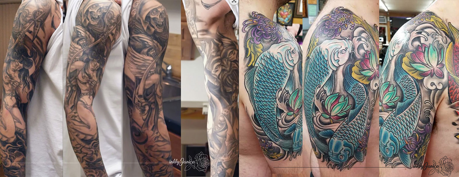 How to Get a Sleeve Tattoo